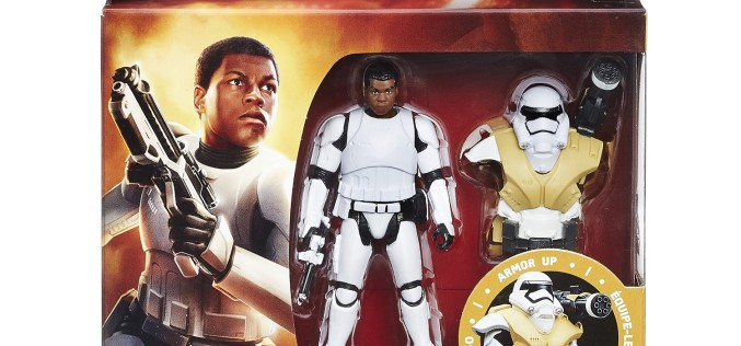 Star Wars First Order TIE Pilot Elite & Finn Armor-Up Figures Available On Amazon