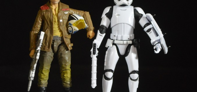 Hasbro Star Wars The Black Series 6″ Target Exclusive Poe Dameron & Riot Control Stormtrooper Review