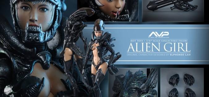 Hot Toys Alien Vs Predator Hot Angel Sixth Scale Figure Pre-Orders