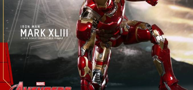 Sideshow Collectibles & Hot Toys Iron Man Mark XLIII Sixth Scale Figure Pre-Orders