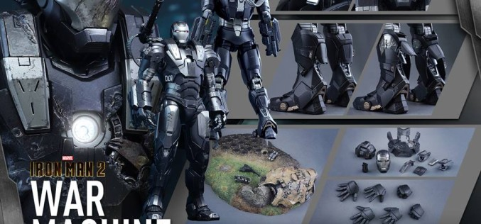 Hot Toys Iron Man 2 Diecast War Machine Sixth Scale Figure Pre-Orders