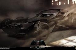 Hot Toys Previews Batman Vs. Superman Sixth Scale Batmobile Vehicle