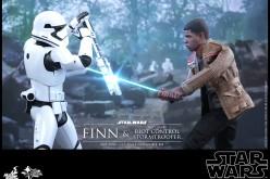 Hot Toys Reveals Star Wars The Force Awakens Finn & Riot Control Stormtrooper
