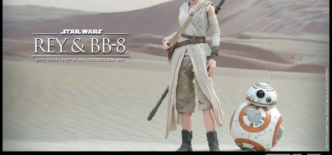 Hot Toys Announces Star Wars The Force Awakens – Rey & BB-8 Sixth Scale Figures