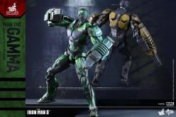 Hot Toys Iron Man 3 Mark XXVI Gamma Armor Sixth Scale Figure