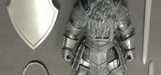 Mythic Legions Prototype Test Shot Sir Valgard Figure For Sale Today