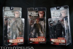 NECA Dawn Of The Planet Of The Apes Series 2 – Caesar, Koba, & Luca Figures Review