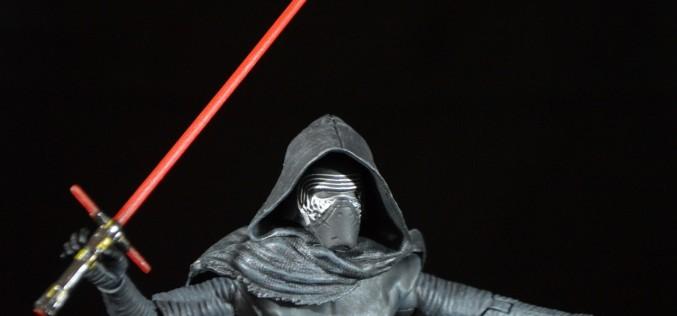 Star Wars Exclusive Kylo Ren Elite Series Die Cast Figure Review