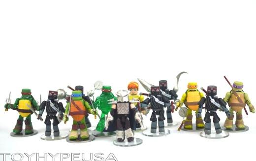 Teenage Mutant Ninja Turtles Minimates Wave 1 Review