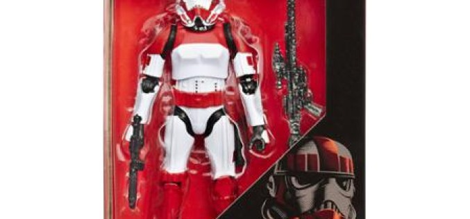 Wal-Mart Exclusive The Black Series 6″ Battlefront Imperial Shock Trooper In Stock