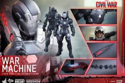 Hot Toys Captain America: Civil War – War Machine Sixth Scale Figure Pre-Orders