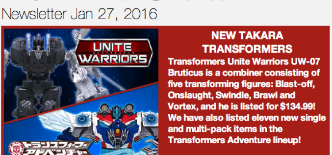 BBTS News: Transformers, DC, Star Wars, Bandai, TMNT, Star Trek, Marvel & More