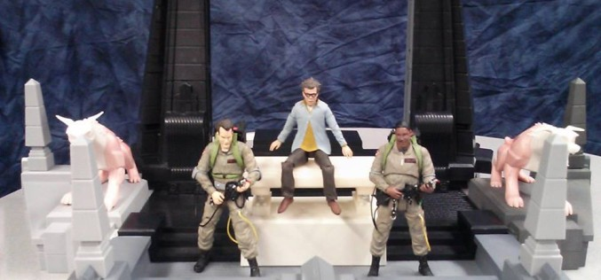 Diamond Select Toys Provides New Preview Of Ghostbusters Select Rooftop Diorama