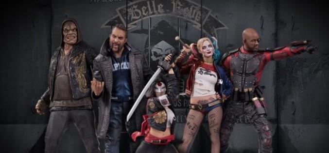 DC Collectibles Reveals Suicide Squad Movie Statues