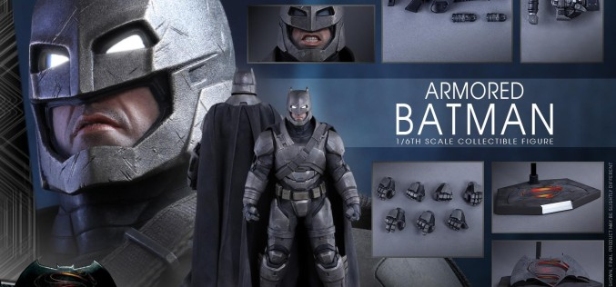 Hot Toys Armored Batman Sixth Scale Figure Pre-Orders