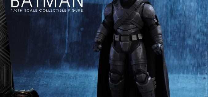Hot Toys Armored Batman Sixth Scale Figure Details