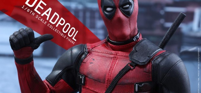 Hot Toys Deadpool Sixth Scale Figure Images & Details