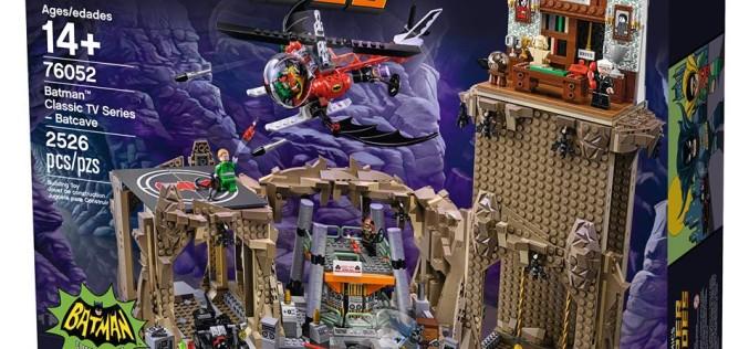 LEGO DC Comics 76052 Batman Classic TV Series – Batcave