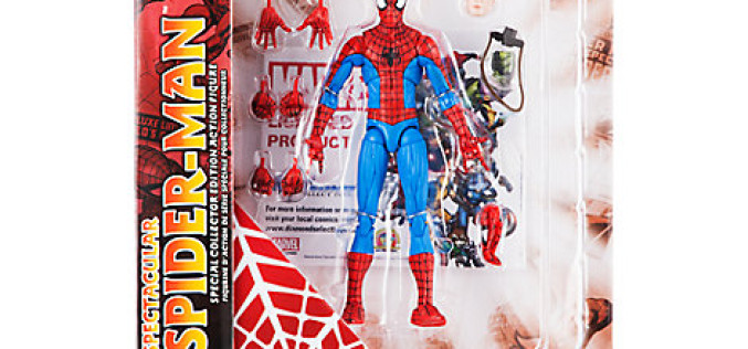 Spectacular Spider-Man Swings Into The Marvel Shop With An All-New Marvel Select Figure