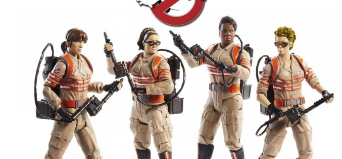 Mattel Ghostbusters Movie 6″ Scale Figures Revealed