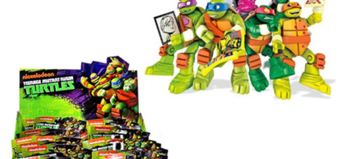 Mattel Teenage Mutant Ninja Turtles Micro Action Figures