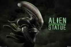 Sideshow Collectibles Alien Internecivus Raptus Statue Details