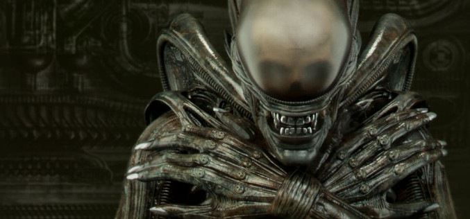 Sideshow Collectibles Alien Internecivus Raptus Statue Behind The Scenes