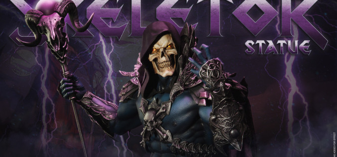 Sideshow Masters Of The Universe Skeletor Statue Video Preview