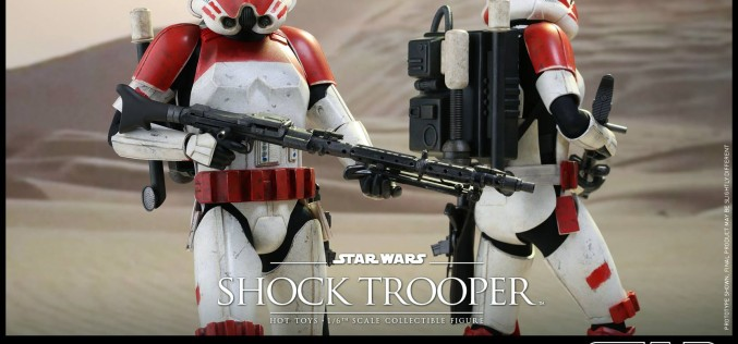 Hot Toys Star Wars Battlefront Shock Trooper Sixth Scale Figure