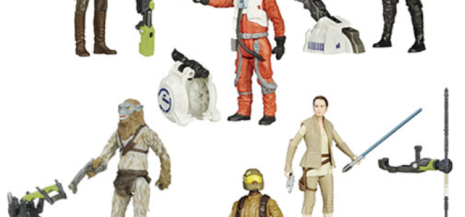 Star Wars: The Force Awakens 3-3/4″ Jungle & Space Action Figures Wave 4 Pre-Orders