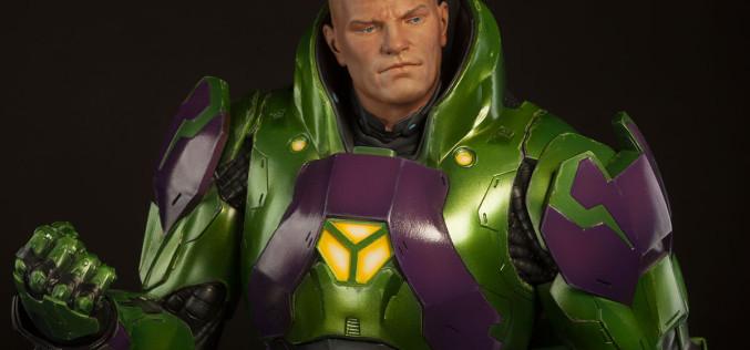 Sideshow Collectibles Lex Luthor Power Suit Premium Format Figure Details