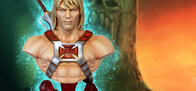 Masters Of The Universe He-Man Collectible Bust Pre-Orders