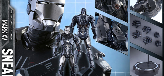 Hot Toys Iron Man Mark XV – Sneaky Sixth Scale Figure Pre-Orders