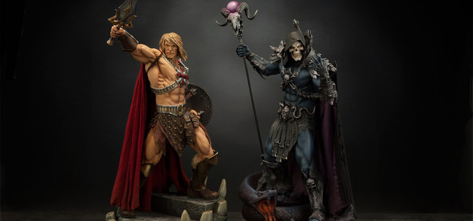 Sideshow Collectibles Masters Of The Universe Skeletor Statue Details