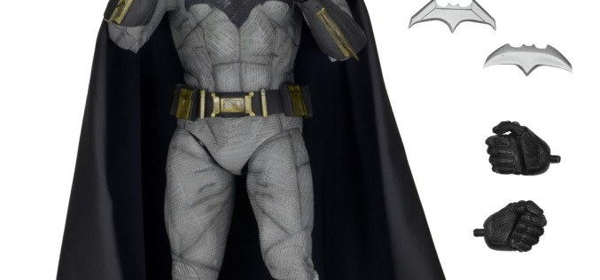 NECA Toys Shipping This Week: Batman v Superman: Dawn Of Justice 1/4″ Batman