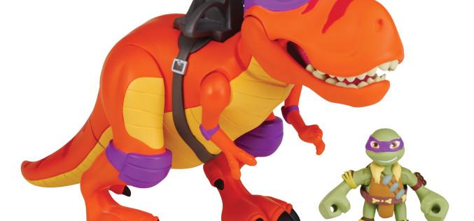 Playmates Toys Teenage Mutant Ninja Turtles Half Shell Heroes Dino Figures