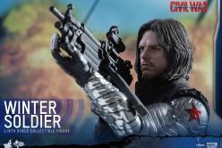 Hot Toys Captain America: Civil War Winter Soldier Sixth Scale Figure