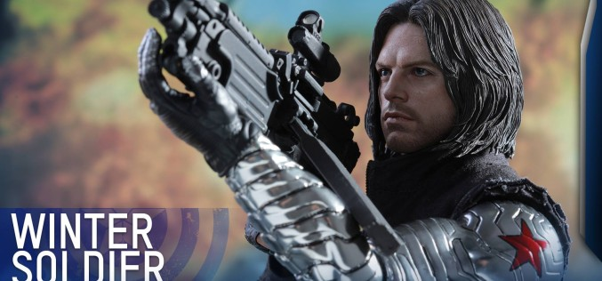 Hot Toys Captain America: Civil War Winter Soldier Sixth Scale Figure
