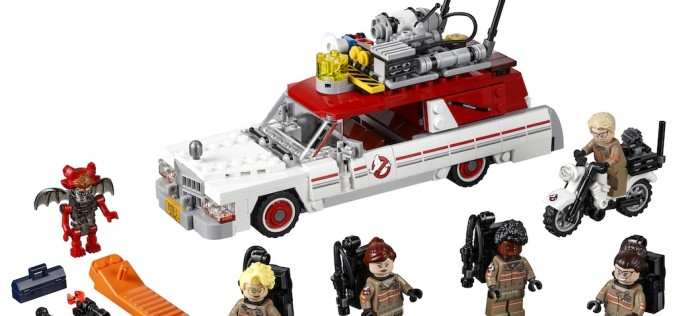 LEGO New Ghostbusters Movie Ecto 1 & 2 Set In Stock On LEGO Shop