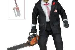 NECA Texas Chainsaw Massacre 2 Leatherface 8″ Clothed Retro Style Figure