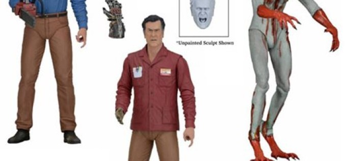 NECA Toys Ash Vs Evil Dead Figures On Official Amazon & eBay Storefront