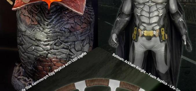 NECA Toys Shipping This Week: Life Size Batman, Xenomorph Egg Replica, & Klingon Batleth