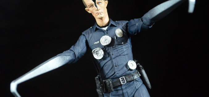 NECA Toys Terminator 2 Ultimate‬ T-1000 Review