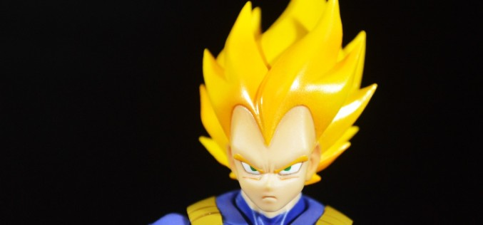 S.H. Figuarts Dragonball Z Super Saiyan Vegeta Premium Color Version Review