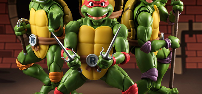 S.H. Figuarts Teenage Mutant Ninja Turtles Leonardo & Donatello Figures Available Now