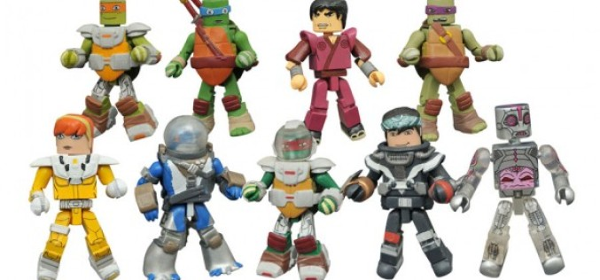 Teenage Mutant Ninja Turtles Minimates Series 5 Shipping This Week