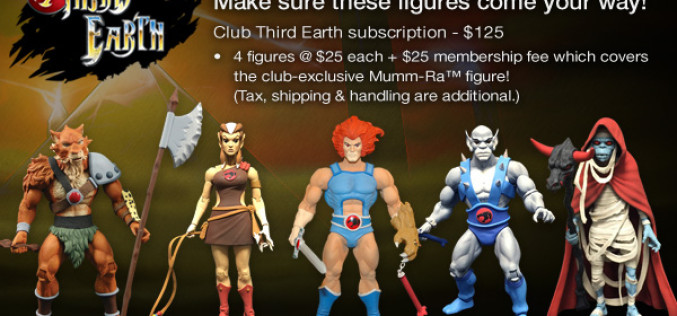 Mattycollector's ThunderCats Third Earth Subscription Sign-Up Period Ends Today