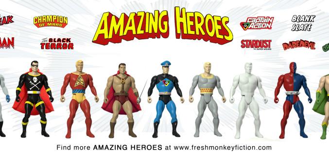 Amazing Heroes Make Public Debut At WonderCon 2016