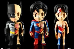 DC Comics XXRAY Figures Of Batman, Superman, & Wonder Woman
