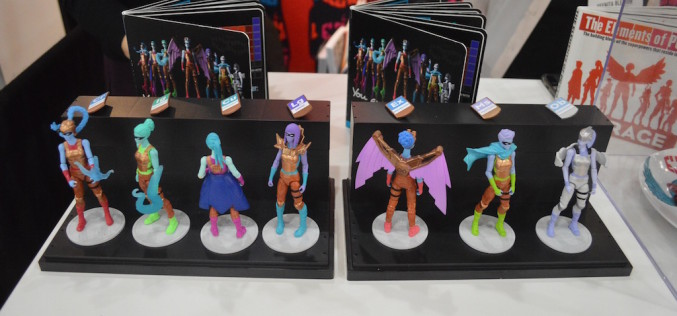 NYTF 2016 – I Am Elemental Booth Coverage